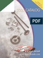 Superior Axle+Gear2003 catalogue