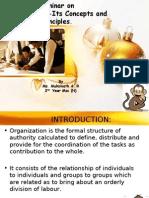 Seminar on Organization