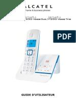 Alcatel Phone Versatis F230 Voice Mode Emploi FR