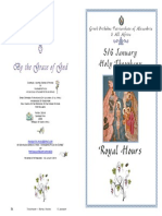 2015 Royal Hours - Theophany - Part 2