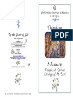 2015 - Theophany - Vespers & St Bas Div Lit - Part 3