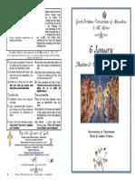 2015 - 6 Jan - Theophany Mat&Div Lit Hymns