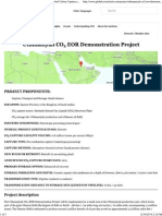 Uthmaniyah CO2 EOR Demonstration Project _ Global Carbon Capture and Storage Institute