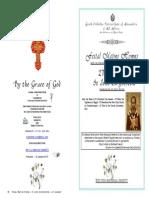 2015 - 27 Jan - St John Chrystom - Translation
