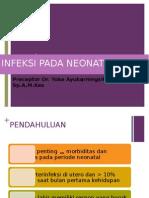 Referat infeksi Pada Neonatus