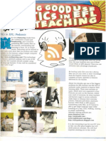ICT in the classroom:Podcasts