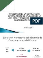 Contrataciones Con El Estado - Exposicion Upt