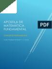 Apostila de Matemática Fundamental