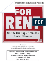 On the Renting of Persons
