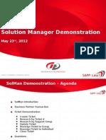 CR SolMan Demonstration - Core Team