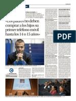 Entrevista Oscar González. Periódico Información
