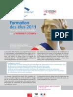Formation des élus 2011 - Des cycles de formation sur l'Internet citoyen