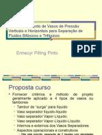 Dimensionamento de Vasos de Pressão Verticais e Horizontais (2)