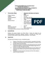 Hist. Process of P.R Prontuario