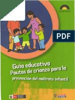 Guia de Pautas de Crianza Prev Violencia