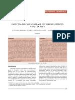 12. Infectia Mucoasei Orale
