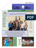 January February 2015 Edition of the Caddie Online