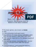 Report in MAPE 101 (Asian Games)