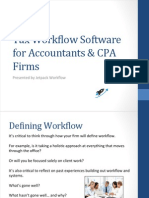 Tax Workflow Software