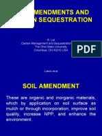 Soil Amendments and Carbon Sequestration