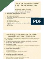 resumo da unidade 2 química 10º ano - versão 2010-2011
