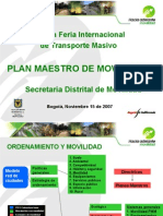 PPT plan maestro de movilidad.ppt