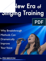 New Era of Singing Training 2014