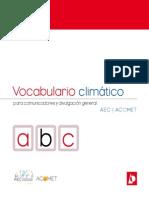 Vocabulario Cambio Climatico