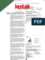 Destak - Plataforma Sindical acredita que maioria de professores quer entendimento com Ministério