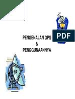 Pengenalan GPS Dan Penggunaannya