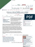 PD - Professores «Há boas condições» para a avaliação