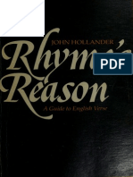 John Hollander - Rhyme_s Reason - A Guide to English Verse