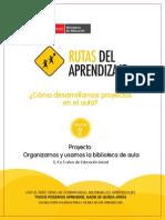 Fasciculo Inicial Proyecto Biblioteca de Aula