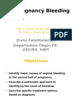 K - 21 Late Pregnancy Bleeding (Obgyn)