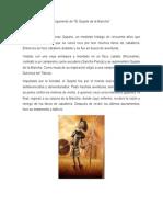 Argumento de Don Quijote de La Mancha