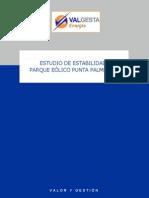Estudio de Estabilidad PPalmeras