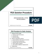 FEA Solution Procedure