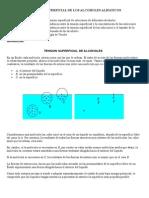 ACTIVIDAD SUPERFICIAL DE LOS ALCOHOLES ALIFATICOS.doc