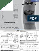Fellowes Powershred P-45C Paper Shredder - 3240004