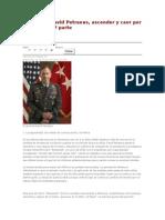 El General David Petraeus, ascender y caer por los medios .docx