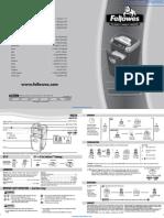 Fellowes Powershred® MS-460Cs Shredder - 3246001
