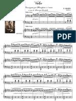 [Free com Chopin Frederic Valzer Minuto Trascrizione Concerto Per Pianoforte Mani 14481