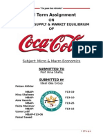 Market Demand and Supply of Coke