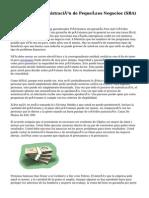 Acerca de la Administración de Pequeños Negocios (SBA) Préstamos