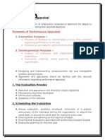 Performance Appraisal SHRM