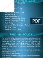 Marine policy in India and types
