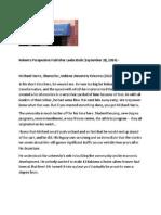 Michael Harris IU Kokomo, Chancellor Recognized, Kokomo Perspective Publisher Looks Back, September 28, 2014