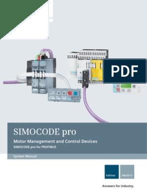 manual simocode pro profibus en-us | parameter (computer programming) |  safety  scribd