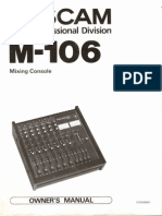 tascam 106 manual