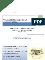 Tumores malignos de cav nasal .pptx